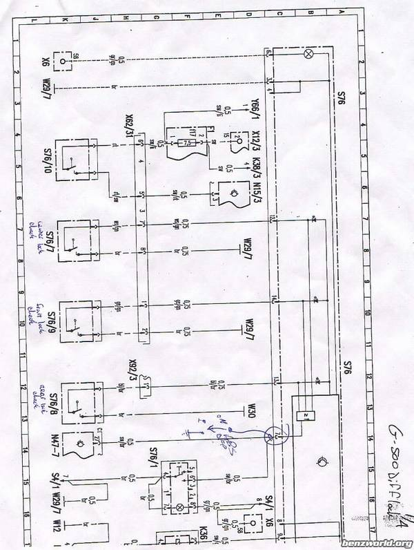 early 463's... ABS kill switch part number? - Page 2 - Mercedes-Benz on