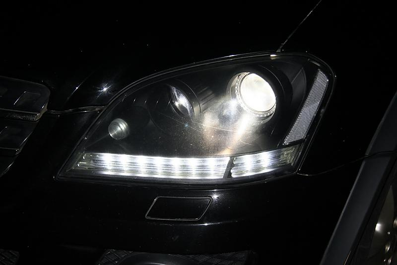 W164 Prefacelift Headlight With Leds Mercedes Benz Forum