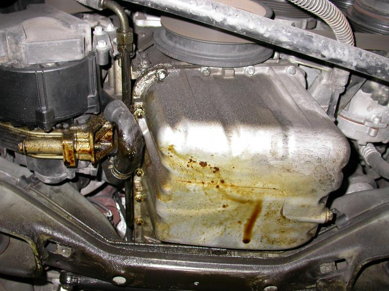 Oil Pan Gasket Replacement 98C230 ? - Mercedes-Benz Forum