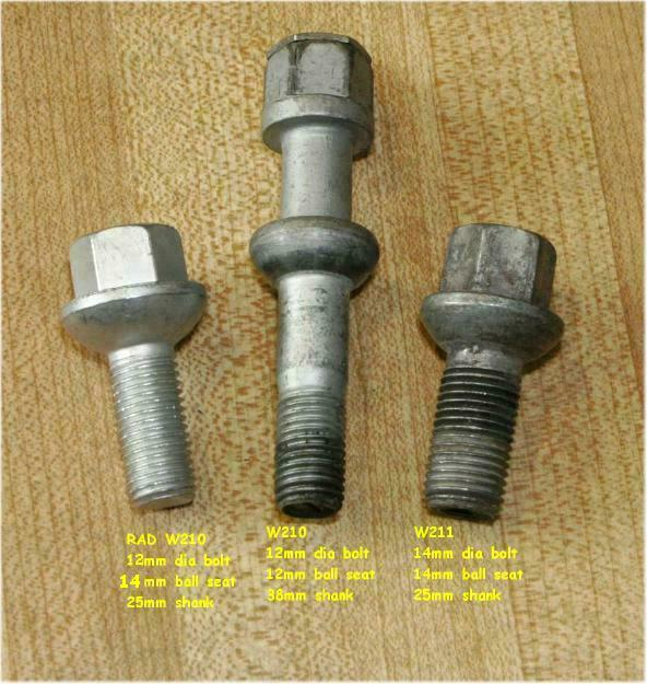 90 300te what is wrong with these lug nuts for Mercedes benz lug nuts
