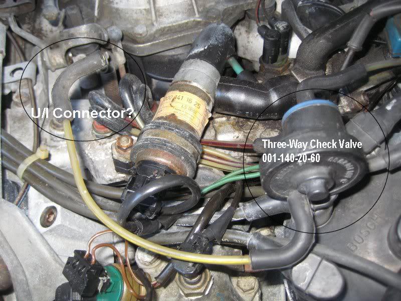 Need Help  560sl Vacuum valve    diagram    or picture  MercedesBenz Forum