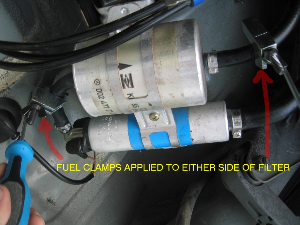 photo diy- fuel filter change- part 1