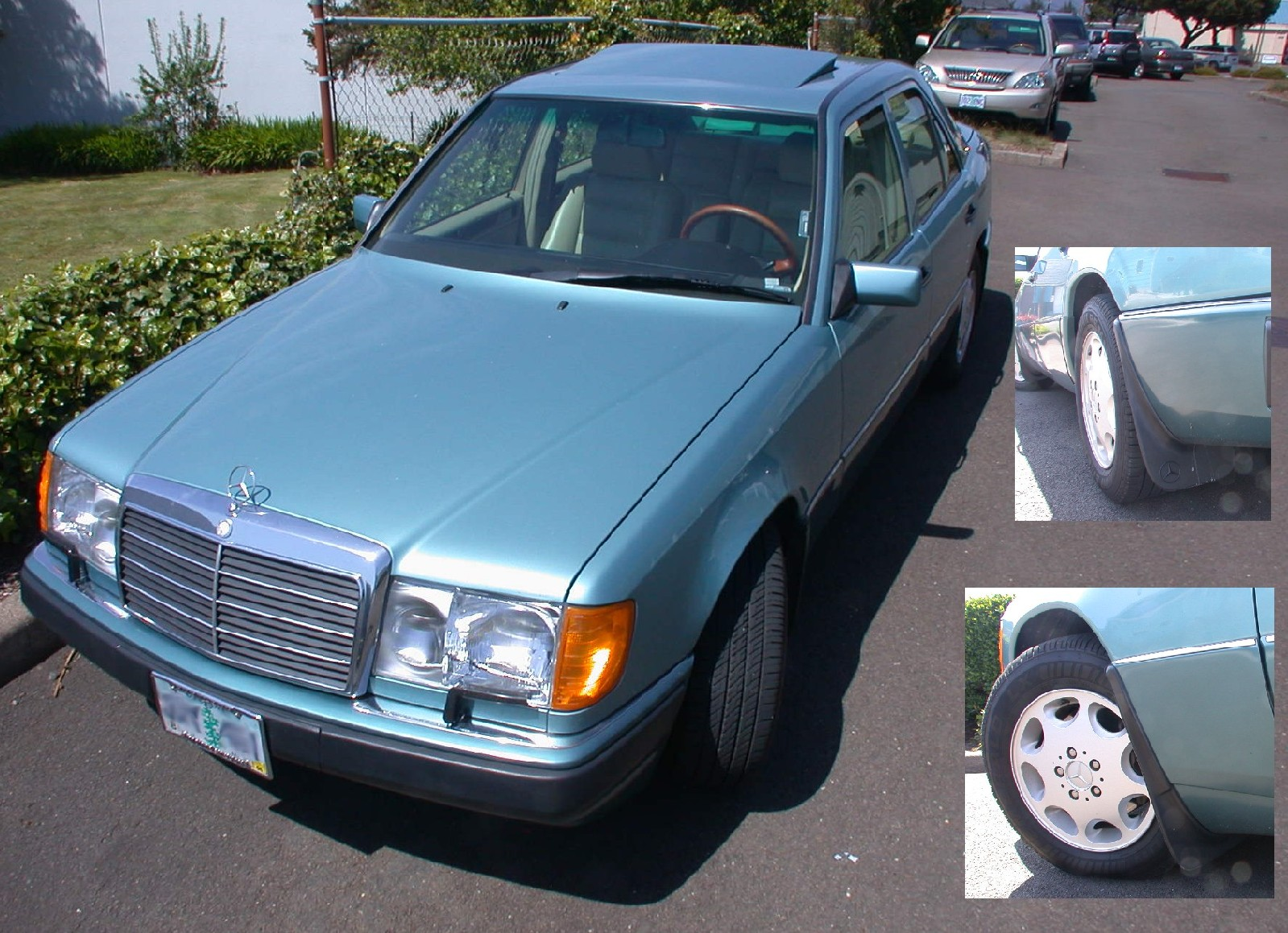 Muflaps for '95 w124?