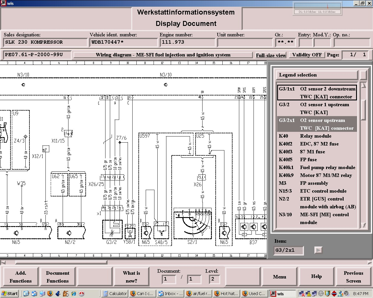 Air Fuel Ratio Meter Mercedes Benz Forum Wiring Diagram W113 Click Image For Larger Version Name 45f9b12c Views 1179 Size 3018