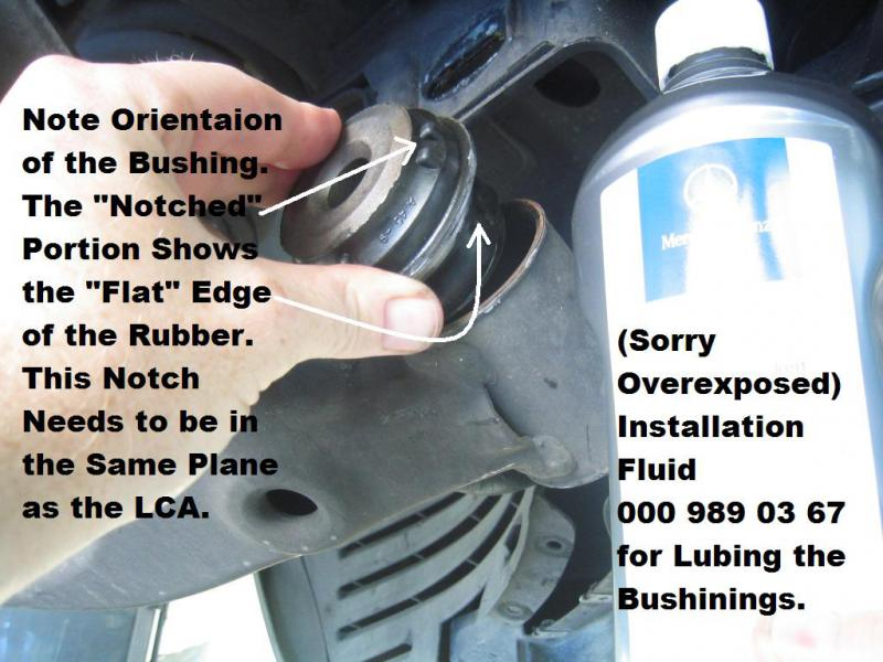 Control Arm Bushing >> Photo DIY: Lower Control Arm Bushing R/R - Mercedes-Benz Forum