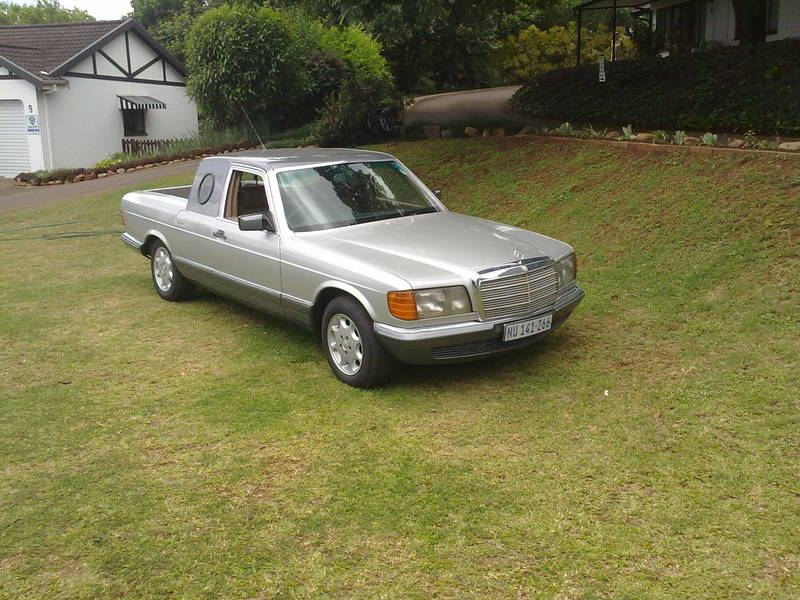 Mercedes Of Denver >> An African W126 Ute/Bakkie/ Pickup - Mercedes-Benz Forum