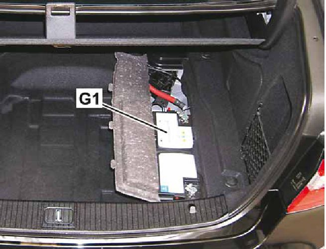 s500 mercedes battery location