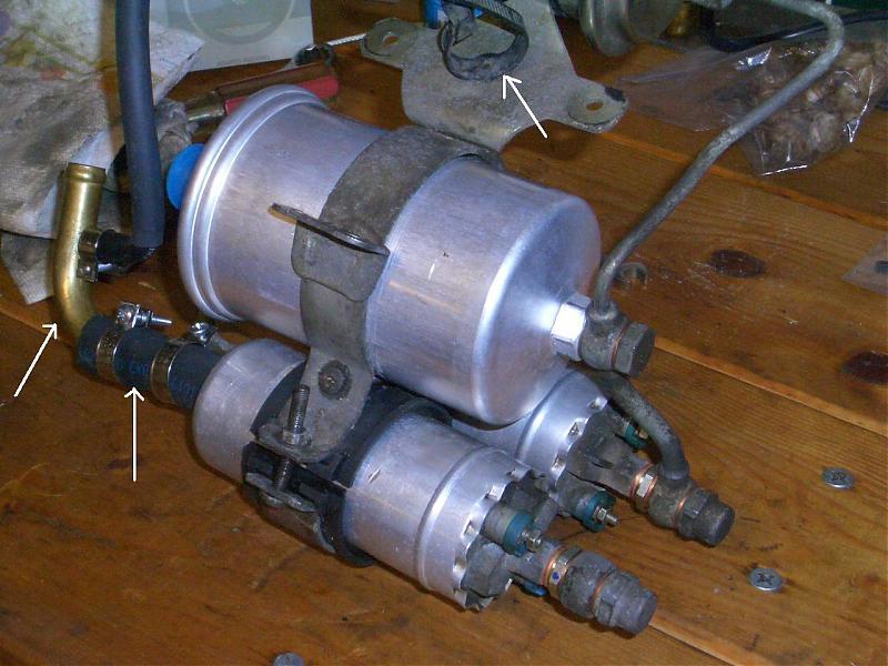 Fuel Pump  Filter Leftover Parts
