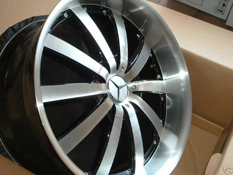 20 inch rims from ebay for c300 what do you think for Mercedes benz 20 inch wheels