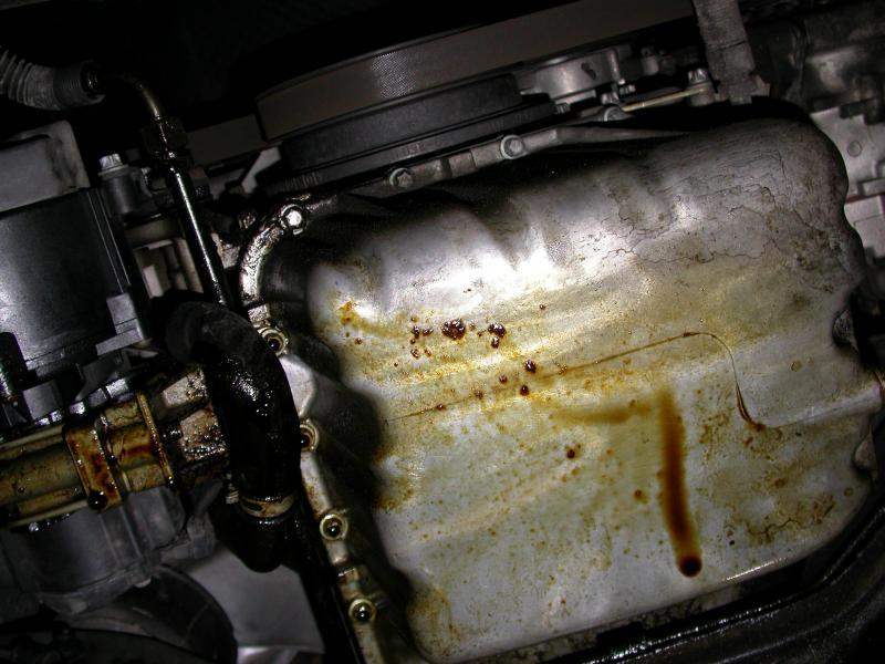 Oil Pan Gasket Replacement 98C230 ? - Mercedes-Benz Forum