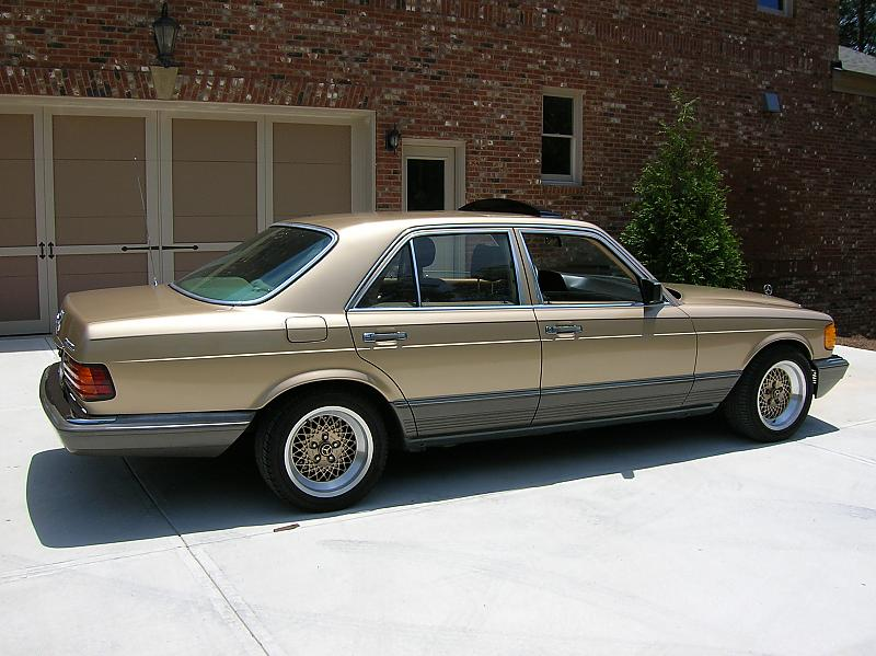 looking for the right bbs rims for my 560sec mercedes. Black Bedroom Furniture Sets. Home Design Ideas