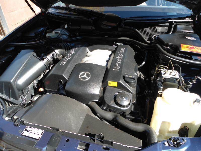 Mercedes M112 Engine Left Cylinder Head Loaded 1120161201 ML320 ...