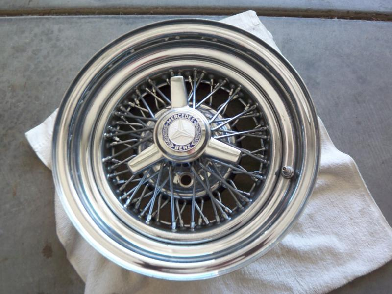 1974 Mercedes 450SL chrome spoked rims - Mercedes-Benz Forum