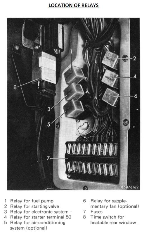 12v 14 pin relay wiring diagram 1973 450sl fuel pump issue mercedes benz forum  1973 450sl fuel pump issue mercedes benz forum