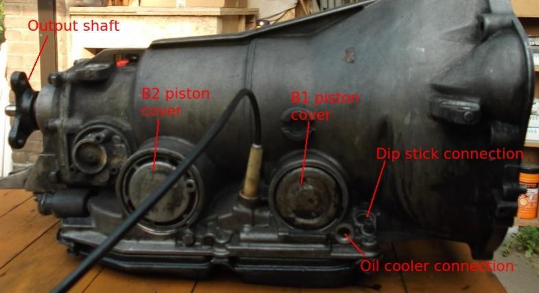 1995 Mercedes S420 Transmission Problem