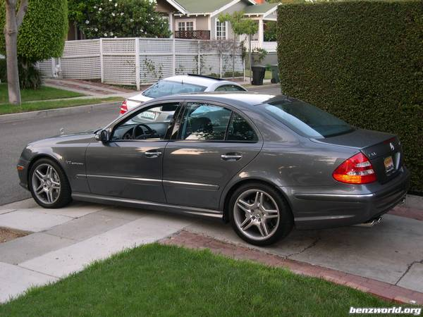 It's here, MY 2006 E55 AMG /// - Mercedes-Benz Forum