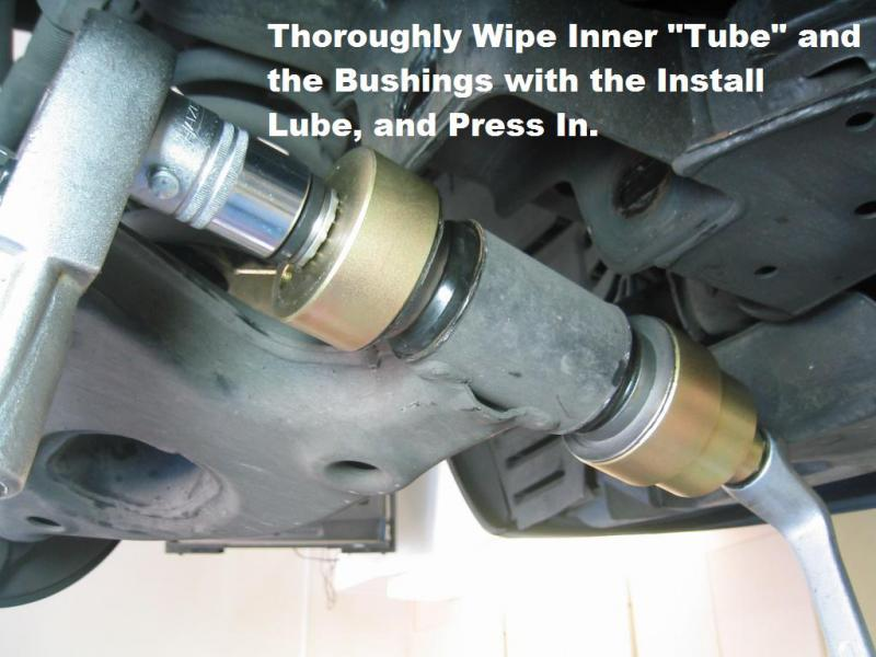 Photo Diy Lower Control Arm Bushing R R Mercedes Benz Forum