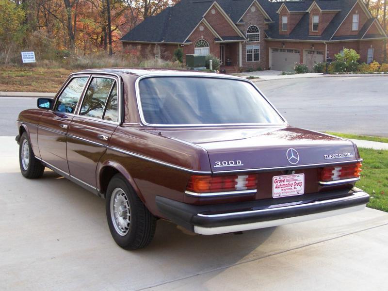 fs 1985 mercedes 123 300 turbo diesel mercedes benz forum. Black Bedroom Furniture Sets. Home Design Ideas