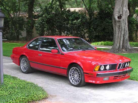 Trade: BMW 635csi 89 Red on Black 105K - Mercedes-Benz Forum