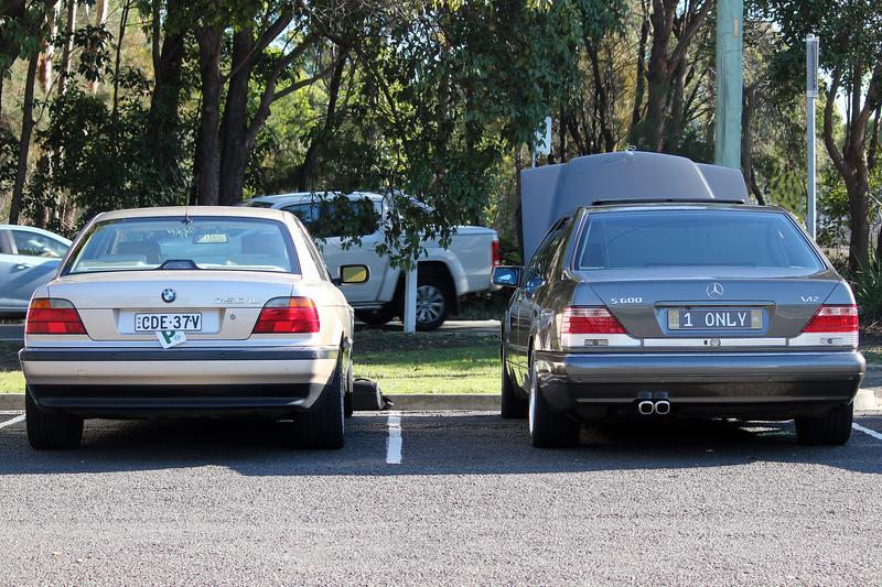 Bmw S E38 Body 750il Vs Mercedes W140 S600 Mercedes Benz Forum
