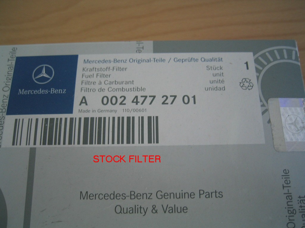Photo Diy Fuel Filter Change Part Ii Mercedes Benz Forum S420 Click Image For Larger Version Name 9 Views 156 Size 1195