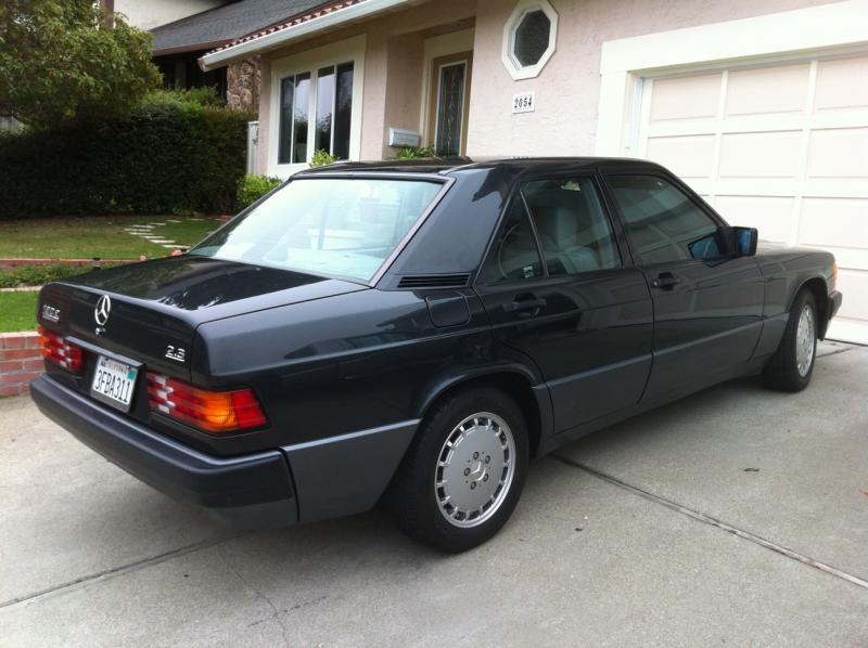 1993 Mercedes Benz 190e 2 3 With 51k Original Miles 6000 Mercedes Benz Forum