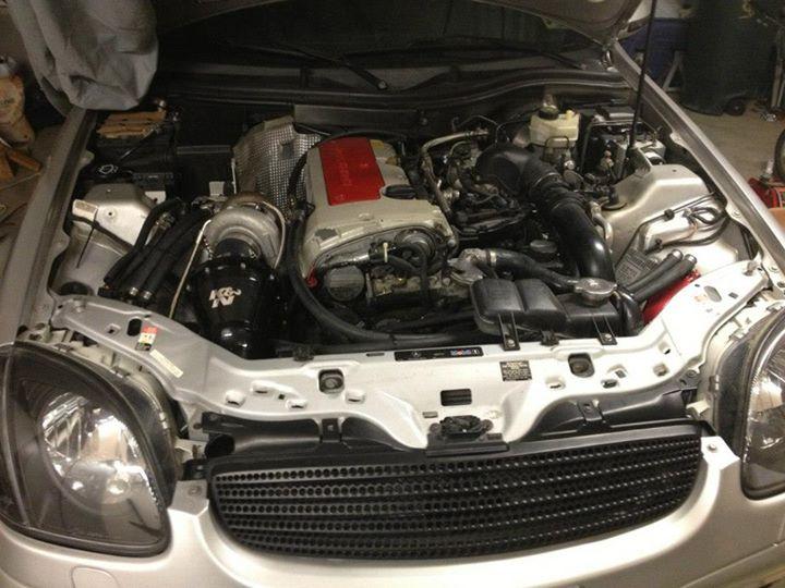 Mercedes Slk 230 Turbo Kit
