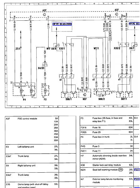 vacuum pump wiring diagram mercedes benz forum rh benzworld org 1990 Mercedes 300E Wiring-Diagram Mercedes -Benz Engine Diagram