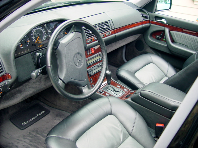 Mercedes Benz Of Knoxville >> leather dashboard and a suede headliner - Page 2 ...