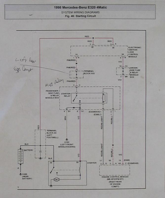 Need Help-no Start  U0026 39 98 E320 - Page 3