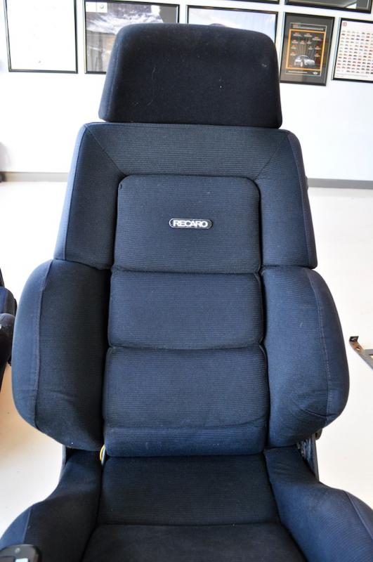pair of recaro ideal c seats