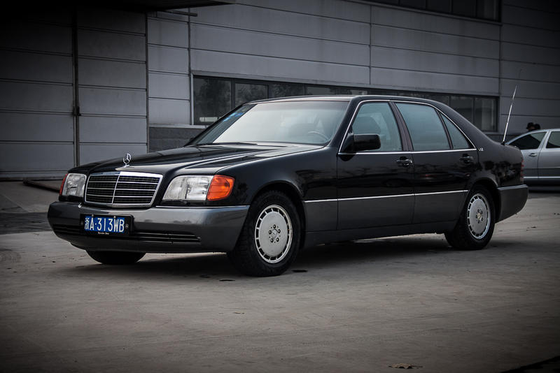 Again,youngtimer Mercedes 600SEL from China - Mercedes ...