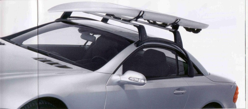 Bike and ski rack for sl mercedes benz forum for Mercedes benz ski rack