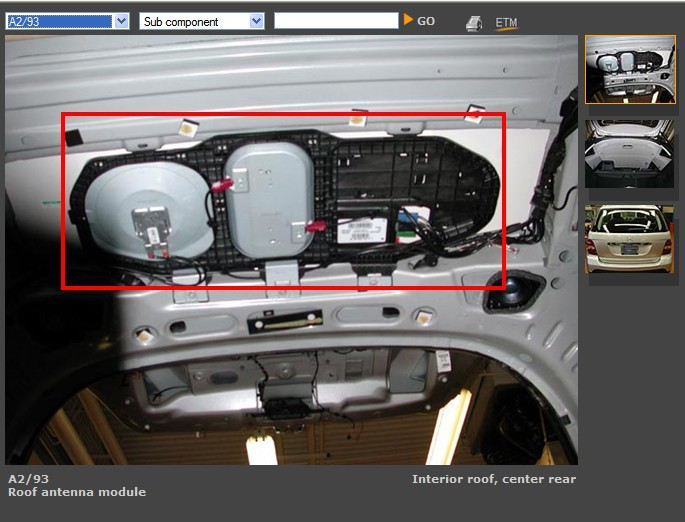 D Key Fob Rf Receiver Problem A Roof Antenna Control Module on Central Door Locking System Diagram
