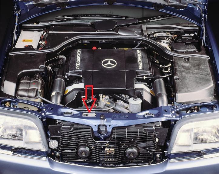 Se Mercedes Engine Number Location