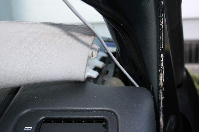 D Interior Pillar Cover Removal A Pillar Trim Removal