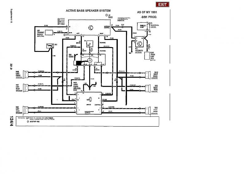 196058d1221865170 wiring diagram radio 1992 2 3 activebass wiring diagram for radio on 1992 2 3 4 cylinder mercedes benz forum Mercedes-Benz R129 Wiring Diagrams at bakdesigns.co