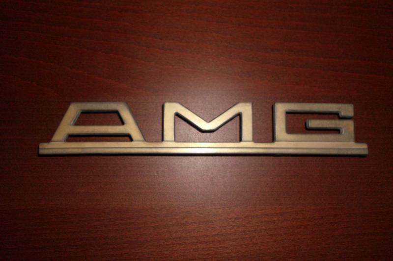Genuine Pre Merger Amg Badge Mercedes Benz Forum