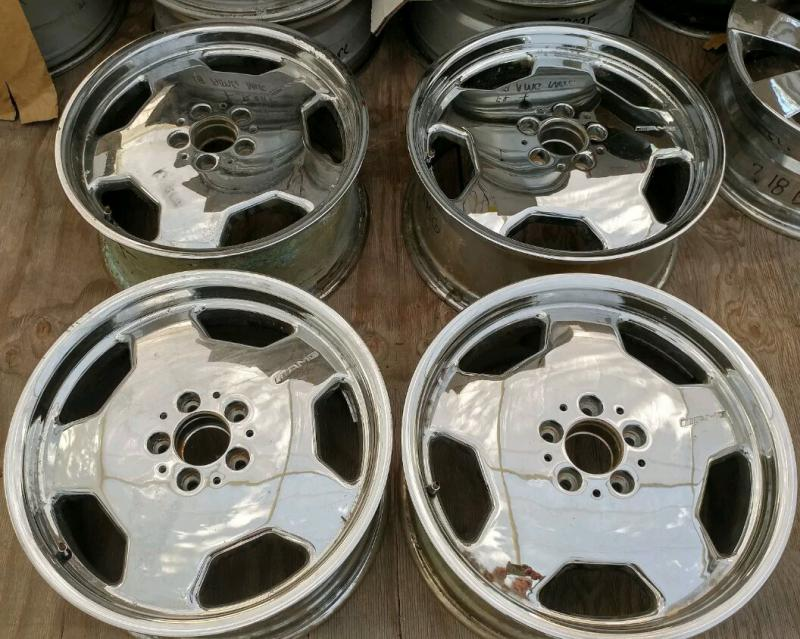 Mercedes For Sale >> FOR SALE - AMG Monoblock 18 inch chrome wheels from ...