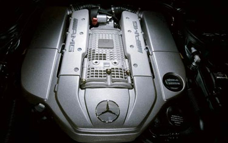 Best Way To Polish And Clean Amg Engine Block Mercedes