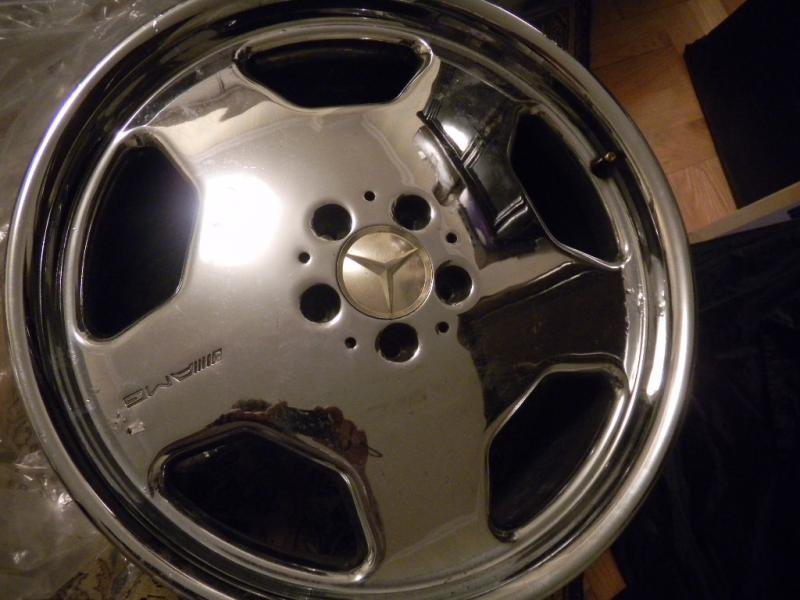 For Sale Amg Monoblock 19inch Chrome Rims Staggered