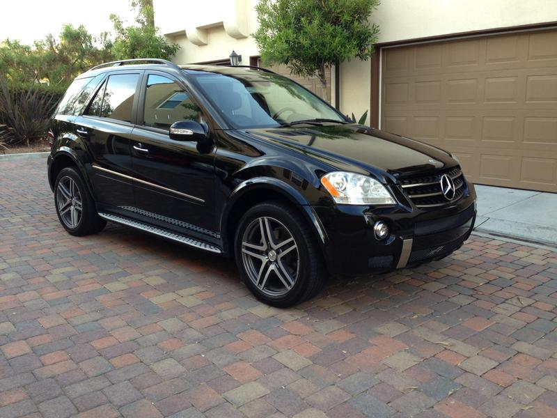 2006 Ml500 Facelift To Amg Oem Ml63 Mercedes Benz