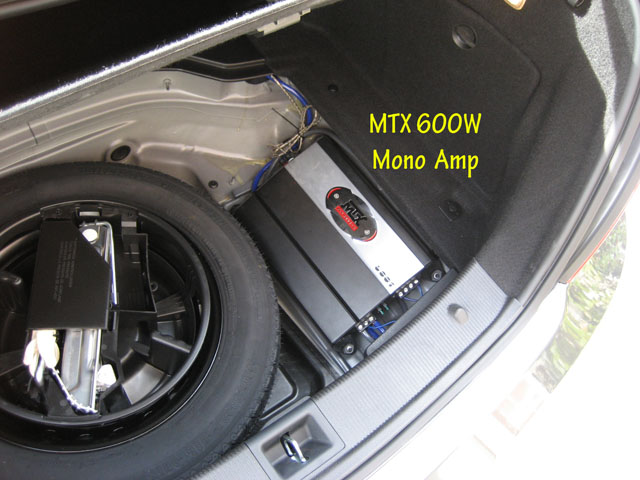 Subwoofer + Amp Install *with pics - Mercedes-Benz Forum