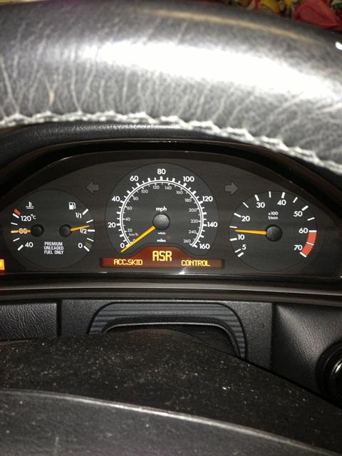 ASR Warning light and 1580 Code - Mercedes-Benz Forum
