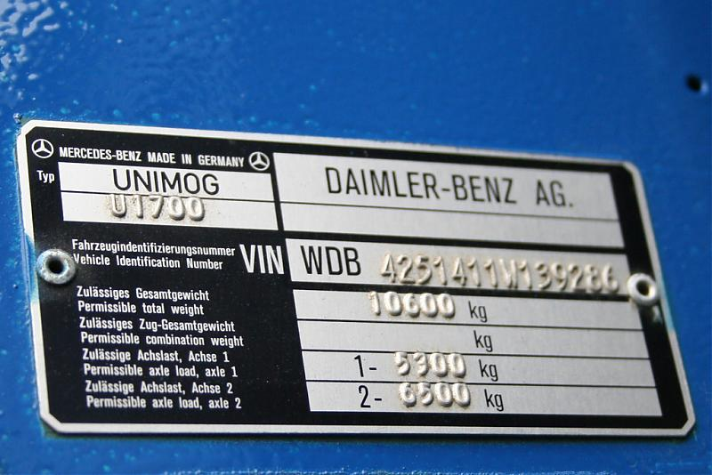 17000 vin mercedes benz forum for Mercedes benz vin numbers