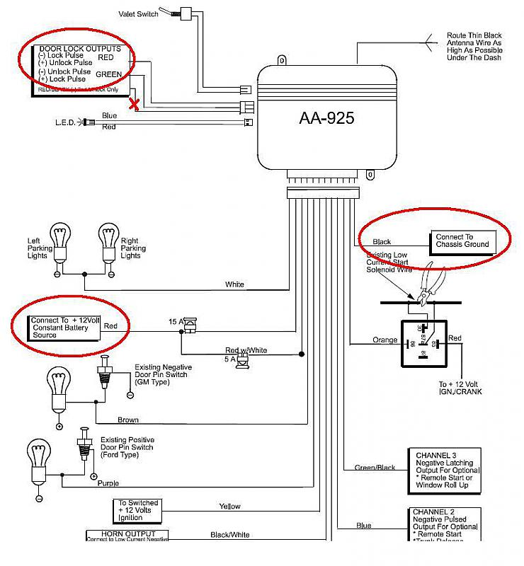 bulldog keyless entry system wiring diagram keyless entry installation help mercedes benz forum  mercedes benz forum