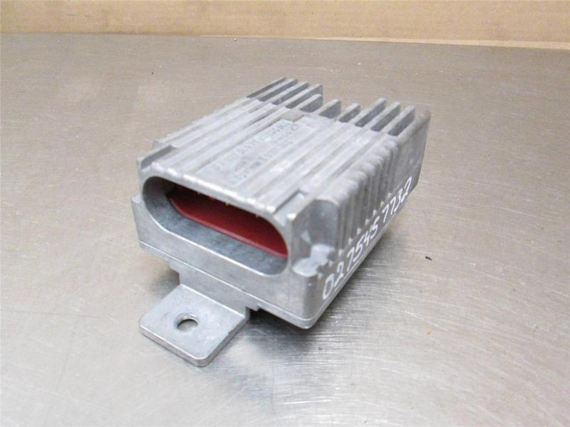 AUXILIARY FAN CONTROL MODULE 0275457732 - Mercedes-Benz Forum