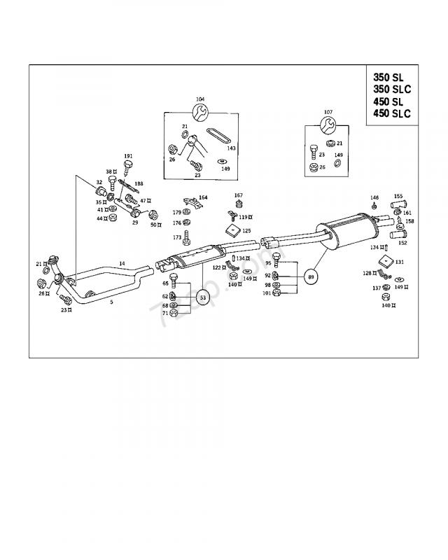Mercedes Benz W114 Wiring Diagram