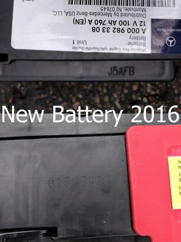 D Determining Battery Manufacture Date Age Batt New