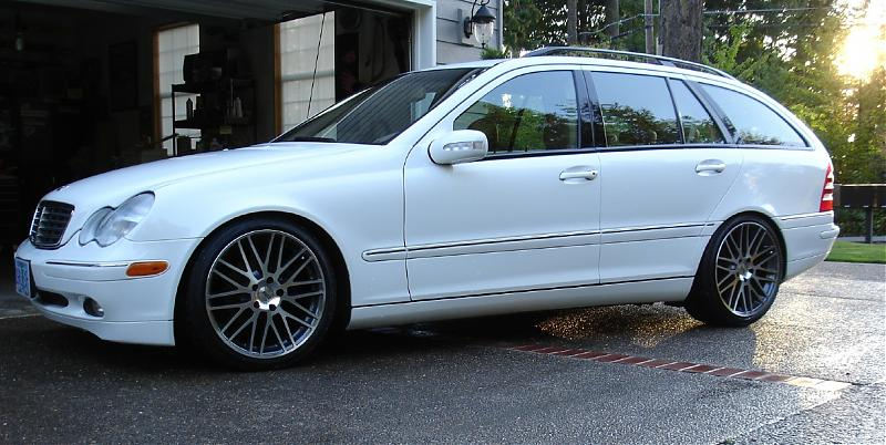Pic Request Overview Of Your Lowered C Class Mercedes Benz Forum